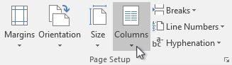 layout column