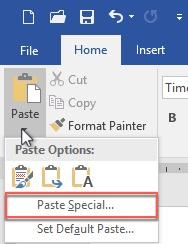 paste special 1